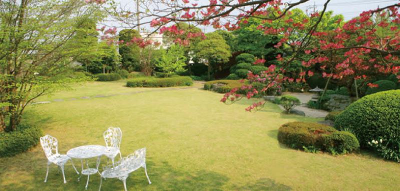 500坪の日本庭園